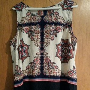 FRENCH QUARTER Paisley Blouse